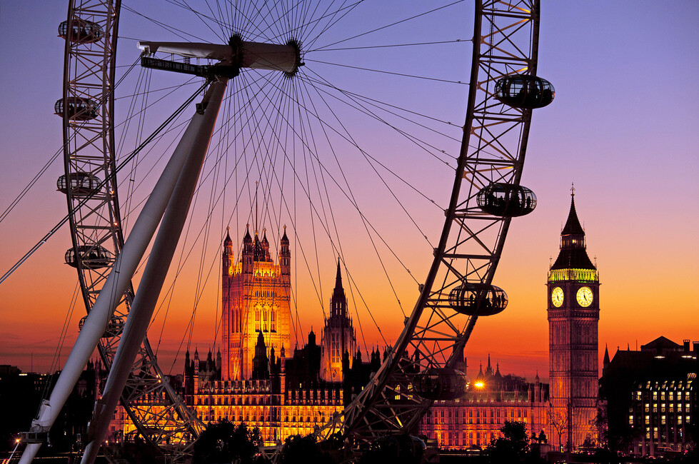 london eye bilder auf leinwand photowall. Black Bedroom Furniture Sets. Home Design Ideas