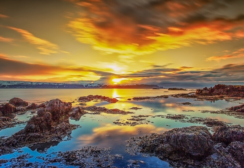 Scenery Of West Iceland Wall Mural Photo Wallpaper