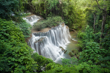 Canvas print - Huay Mae Khamin Waterfall