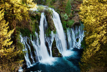 Wall mural - Burney Falls Overlook