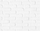 Wallpaper - Soft White Brick Wall