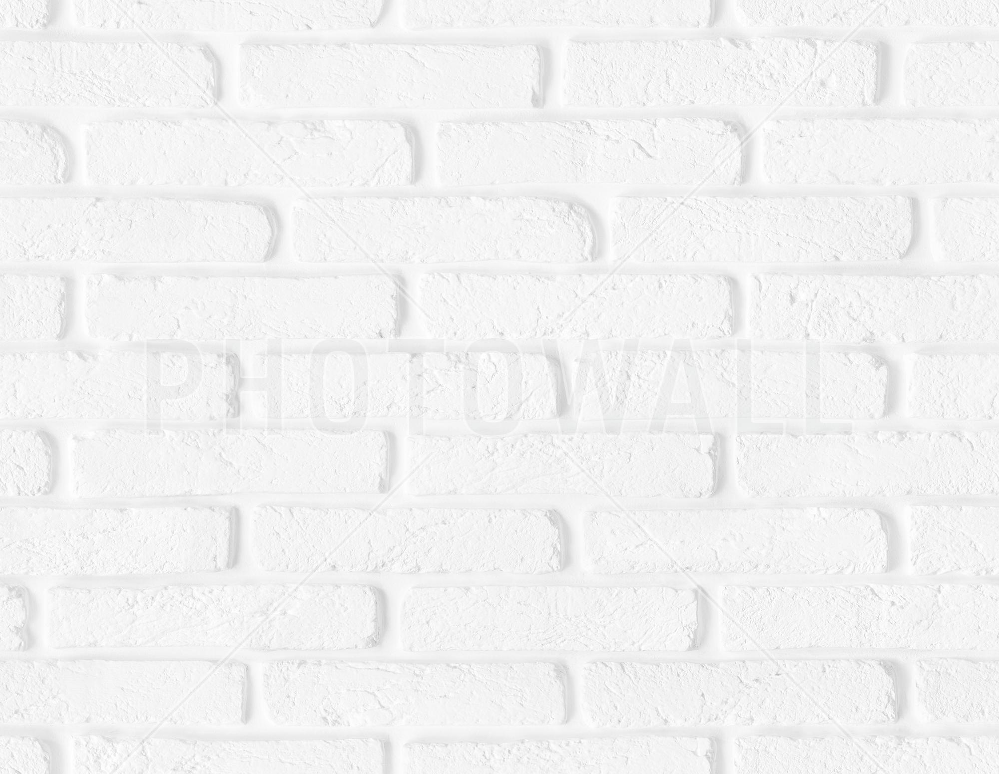Soft White Brick Wall Part 66