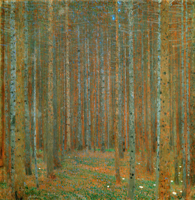 Klimt, Gustav - Fir Forest I
