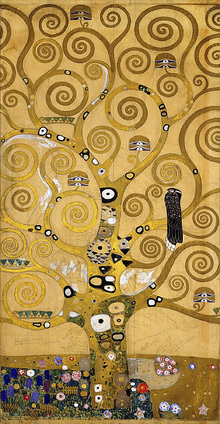 Lerretsbilde - Klimt, Gustav - The Tree of Life