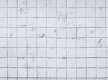 Wallpaper - Old White Tile Wall - 15x15