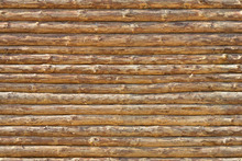 Tapetti - Wooden Logs Wall