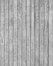 Wallpaper - Wooden Plank Wall - Grey