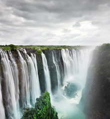 Wall Mural - The Great Victoria Falls