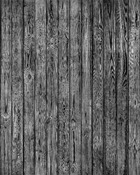 Tapet - Wooden Plank Wall - Black