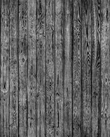 Tapetti - Wooden Plank Wall - Black