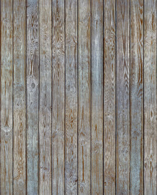 Tapetti - Wooden Plank Wall - Old Silver