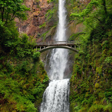 Canvas print - Multnomah Falls