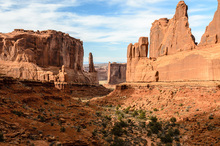 Canvas print - Park Avenue, Arches National Park