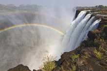 Wall mural - The Majestic Victoria Falls