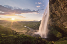 Wall mural - Seljalandsfoss Waterfall in Iceland