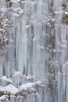 Wall mural - Frozen Waterfall