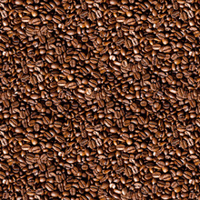 Wallpaper - Coffee Beans - Natural Size