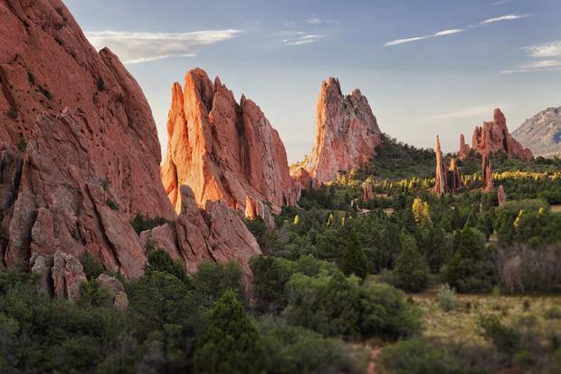 Garden Of Gods Colorado Springs Fototapeter Tapeter Photowall