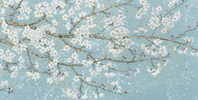 Canvas print - April Breeze I Teal