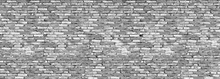 Wall mural - Old Brick Wall - Grey