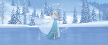 Fototapet - Frozen - Elsa and Magic Heart
