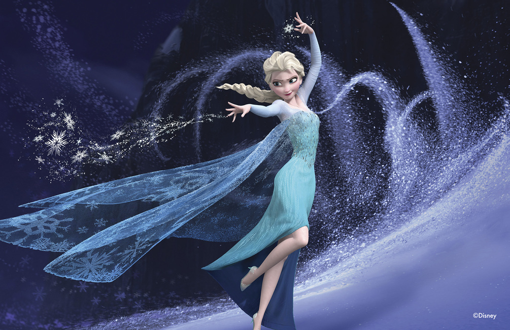 Frozen - Elsa and Her Magic Powers