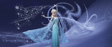 Canvastavla - Frozen - Magic Elsa