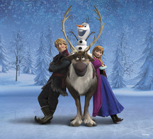 Fototapet - Frozen - Friends