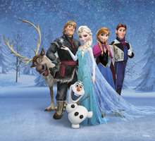 Canvastavla - Frozen - Team Frozen