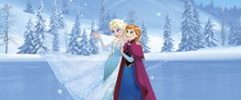 Canvastavla - Frozen - Sisters are Magic