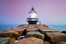 Canvas print - Spring Point Light