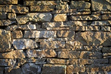 Fototapet - Hand Made Stone Wall