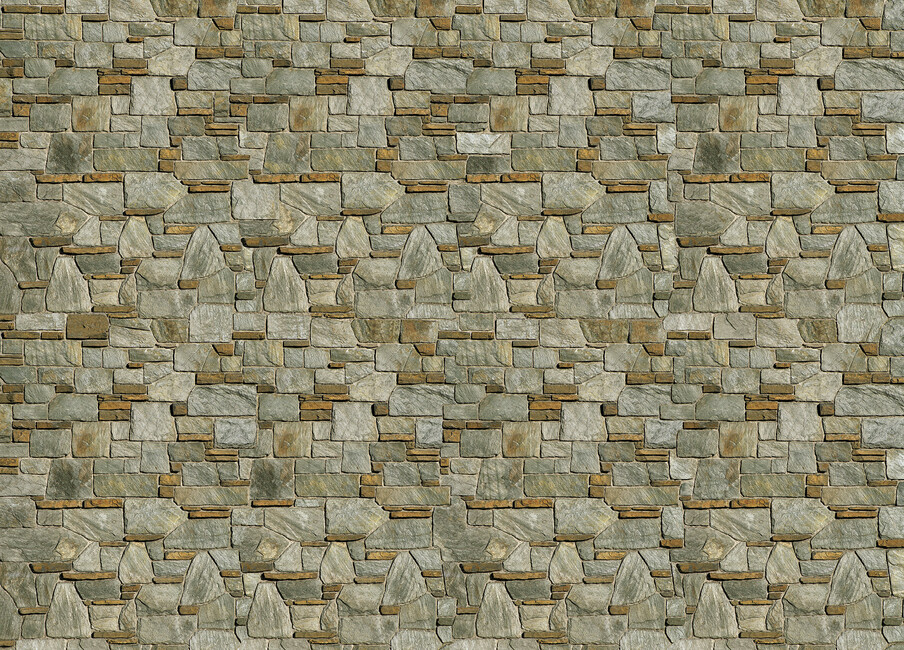Decorative Stone Art : Decorative stone wall canvas print art photowall