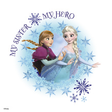 Canvastavla - Frozen - My Sister My Hero