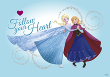 Canvastavla - Frozen - Follow Your Heart