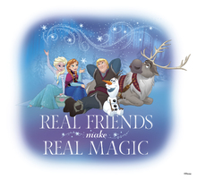 Canvastavla - Frozen - Magic Friendship