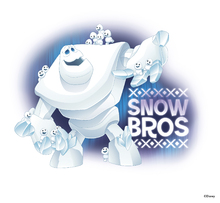 Canvastavla - Frozen - Snow Bros
