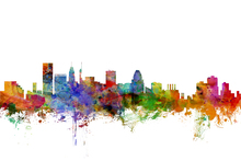Wall mural - Baltimore Maryland Skyline