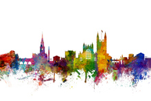 Wall mural - Bath England Skyline