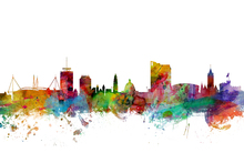 Wall mural - Cardiff Wales Skyline