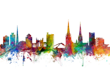 Wall Mural - Coventry England Skyline