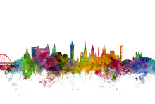 Wall mural - Glasgow Scotland Skyline