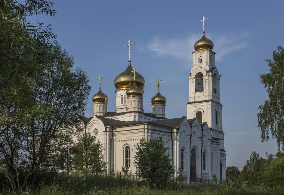 Church of Saint Nicholas, Moscow - Wall Mural & Photo ...