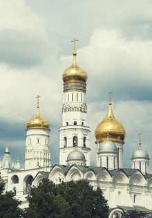 Wall mural - Ivan the Great Bell Tower in Moscow