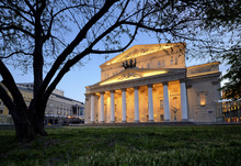 Wall mural - Bolshoi Theatre at Night