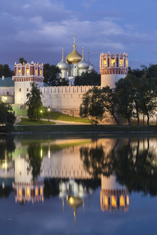 Fototapet - Novodevichy Convent at Moscow