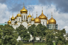 Wall mural - The Kremlin Cathedrals