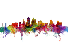 Wall mural - Kansas City Skyline