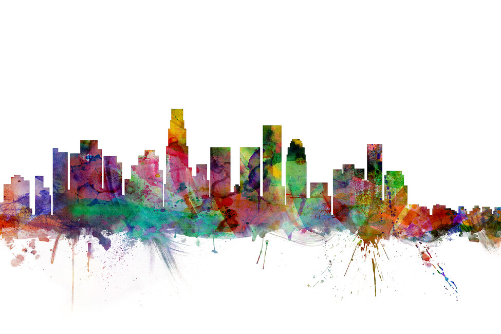 pics photos los angeles skyline wallpaper wallpaper with