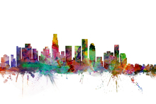 Canvas print - Los Angeles Skyline